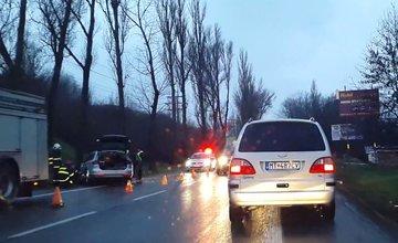 Dopravná nehoda na ulici Košická - 18.12.2015