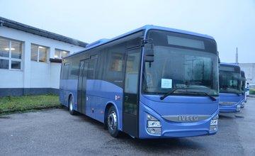 Nové autobusy SAD Žilina
