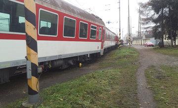 Vykoľajené vozne v železničnej stanici Žilina - 28.12.2015