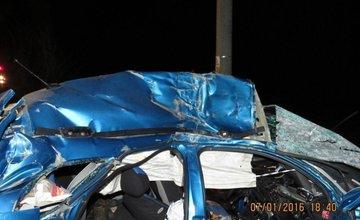 Tragická dopravná nehoda pri Makove - 7.1.2016