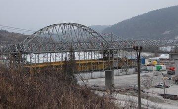 Výstavba diaľnice D3 v úseku Strážov - Brodno