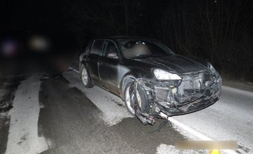 Dopravná nehoda pri Porúbke - 18.1.2016
