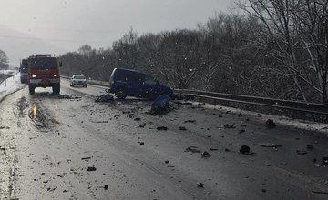 Dopravná nehoda na Kysuciach - 21.1.2016