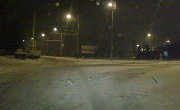 Stav ciest v Žiline po hustom snežení 24.1.2016