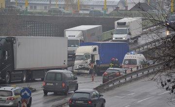 Dopravná nehoda pod Rondlom - 27.1.2016
