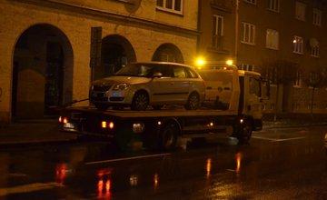Dopravná nehoda na križovatke Bernolákova - Fándlyho - 28.1.2016