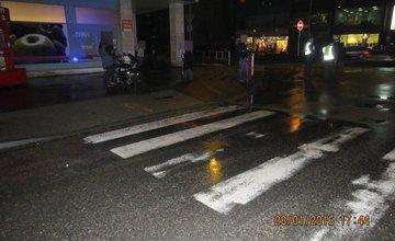 Vodič zrazil chodkyňu na križovatke ulíc Fándlyho a A.Bernoláka