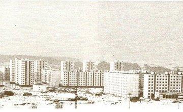 Historické fotografie sídliska Solinky