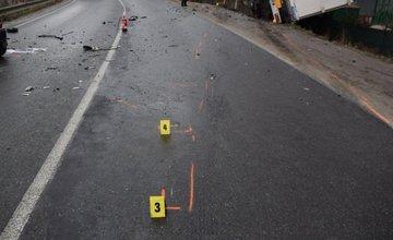 Fotografie z miesta tragickej nehody v Čadci 25.2.2016