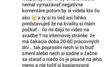 Nespokojní zákazníci spoločnosti, ktorá mala dodať video zo Stužkovej