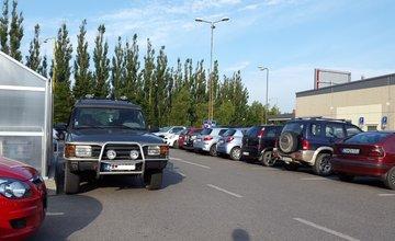 Parkovanie pri ŽILPO, Kaufland, Vlčince