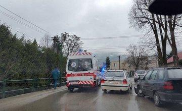 Nehoda Višňové zrážka dvoch automobilov 12.3.2016
