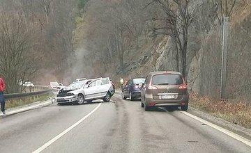 Dopravná nehoda, Strečno, 26.3.2016