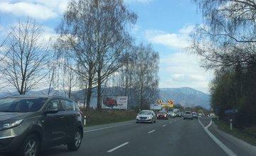 Dopravná situácia a kolóny pod Strečnom - 28.3.2016