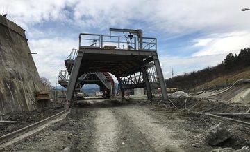 Diaľničný tunel Ovčiarsko - 4.4.2016