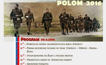 Rekonštrukcia bojov o Polom - 30.04.2016