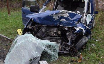 Smrteľná dopravná nehoda - Krásno nad Kysucou 12.4.2016