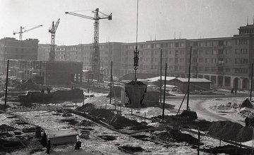 Výstavba Bulváru a sídliska Hliny