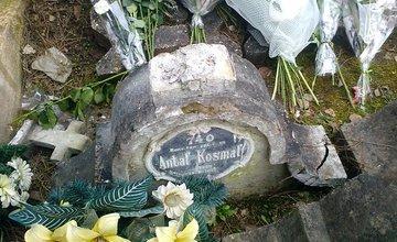 Náhrobný kameň vojaka z 1. svetovej vojny Antala Kosmala