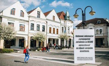 Nadrozmerné reklamy v meste