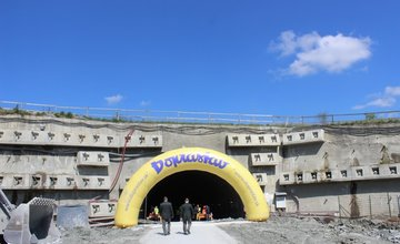 Prerazenie tunela Ovčiarsko 29.4.2016