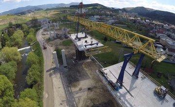 Aktuálne zábery zo stavby diaľnice Žilina - Lietavská Lúčka
