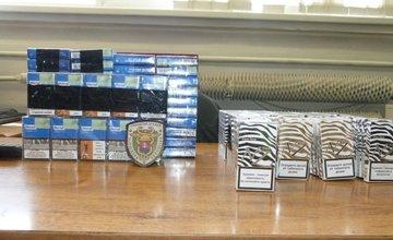 Pašované cigarety v poľskom kamióne