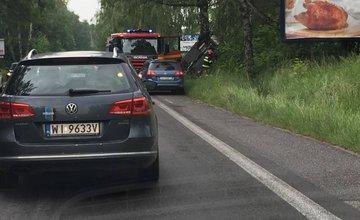 Dopravná nehoda pri Mojšovej Lúčke 29.5.2016