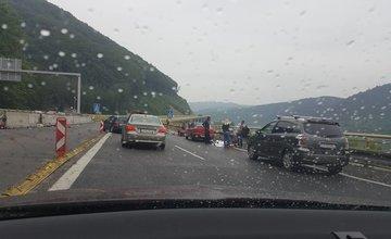 Dopravná nehoda na diaľnici D3 - 11.6.2016