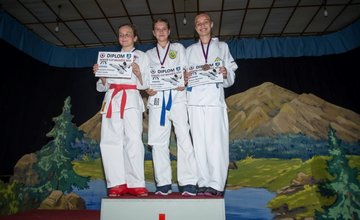 Mladé talenty žilinského karate z AC Uniza Žilina