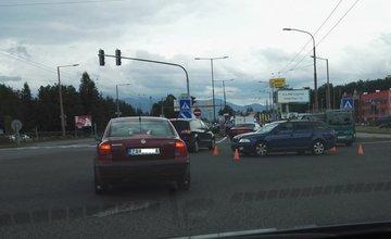Dopravná nehoda na Košickej - 16.6.2016