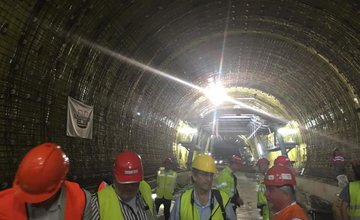Aktuálne fotografie z tunela Ovčiarsko