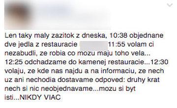 Blacklist žilinských reštaurácií