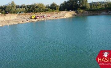 Na Lipoveckých jazerách vo Vrútkach sa utopil muž