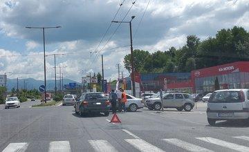 Dopravná nehoda na Košickej - 20.7.2016