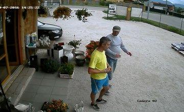 Krádež v záhradníctve v Rajeckých Tepliciach