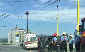 Dopravná nehoda Žilina, Rondel - 27.7.2016