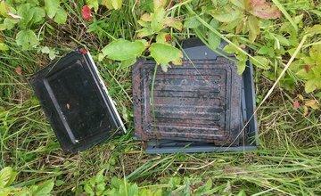 Elektroodpad v prírode v Trnovom