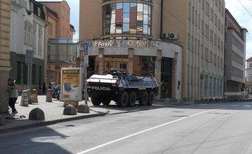 Polícia sa pripravuje na futbalový zápas, rakúski fanúšikovia sú už v Žiline