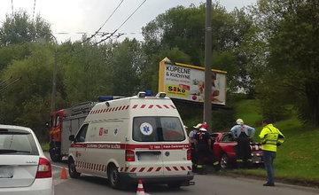 Nehoda Obvodová ulica Solinky 5.9.2016