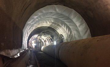 Aktuálny stav z tunela Višňové - 6.9.2016