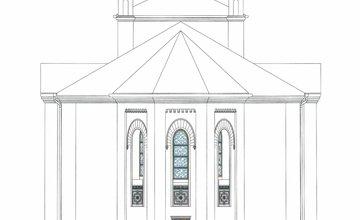 Synagóga Bytča - nákresy rekonštrukcia