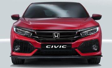 Honda Civic s poradovým číslom 10