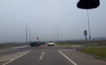 Dopravná nehoda na ceste II/583 pred Žilinou