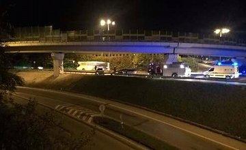 Dopravná nehoda na ulici Mostná - 14.10.2016