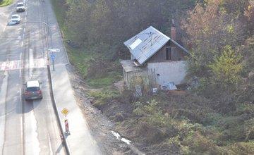 Staré opustené domy na Rosinskej ceste