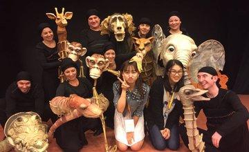 Bábkové divadlo v čínskom Šanghaji 2016