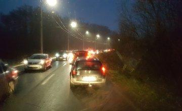 Kolaps dopravy v Žiline - 16.11.2016