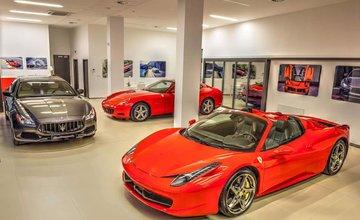 Unikátny showroom luxusných vozidiel MPSG Group Premium Cars