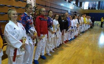 Úspechy Karate klub Žilina Trnava 3.12.2016 - 4.12.2016